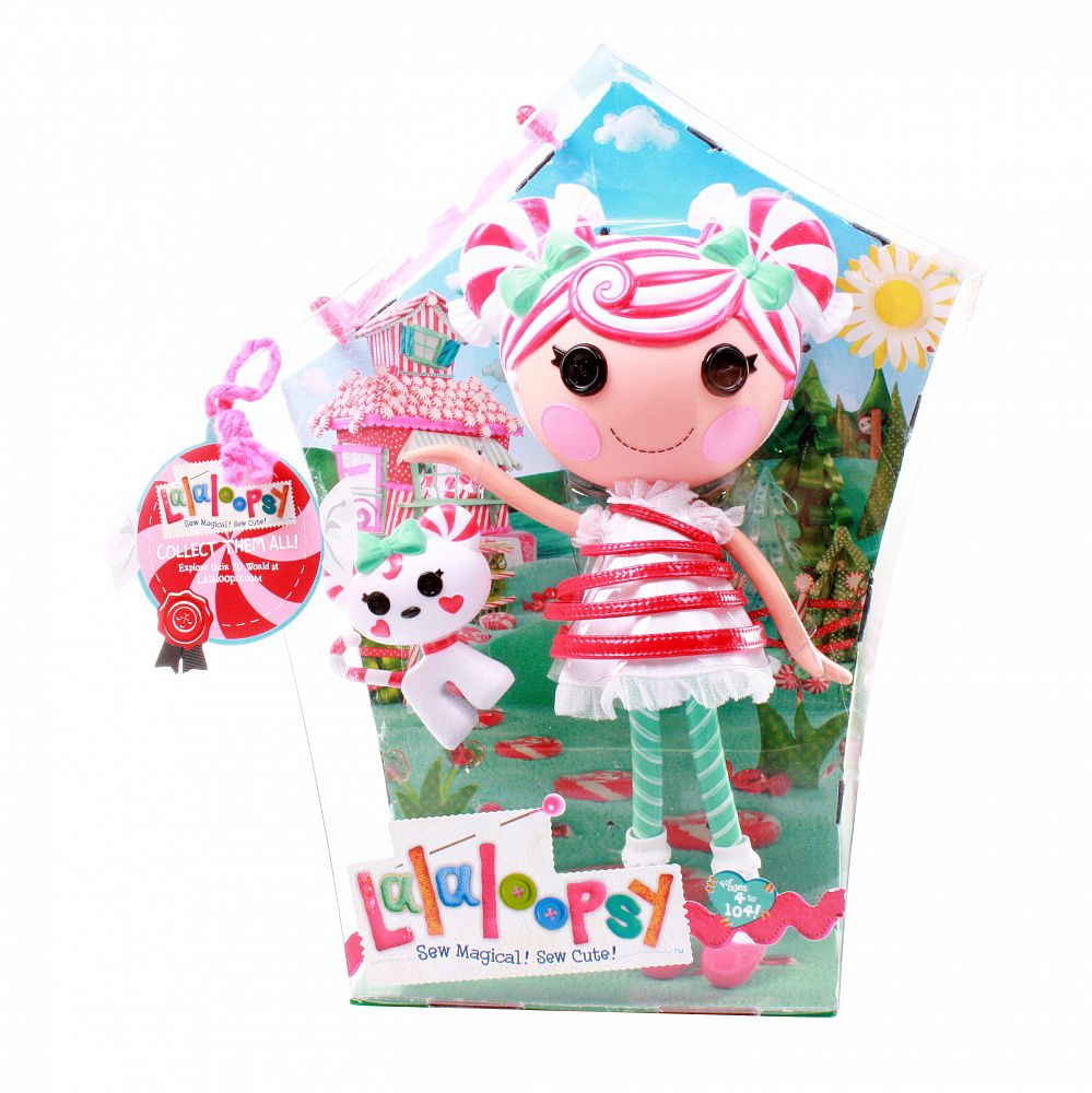 LaLaLoopsy Mint E Stripes Doll