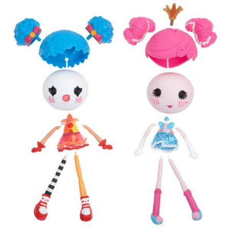 Lalaloopsy Mix N Match Workshop Princess & Clown Double Pack
