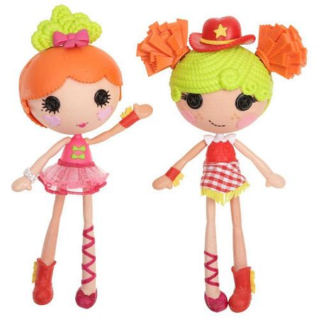Lalaloopsy Mix N Match Workshop Ballerina & Cowgirl Double P