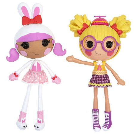 Lalaloopsy Mix N Match Workshop Bunny & Nerd Double Pack