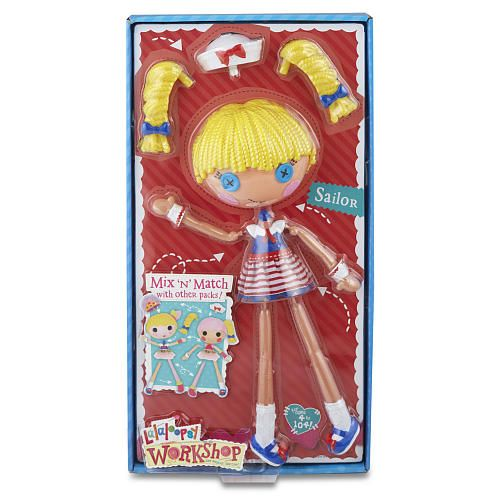 Mix N Match Workshop Sailor Doll