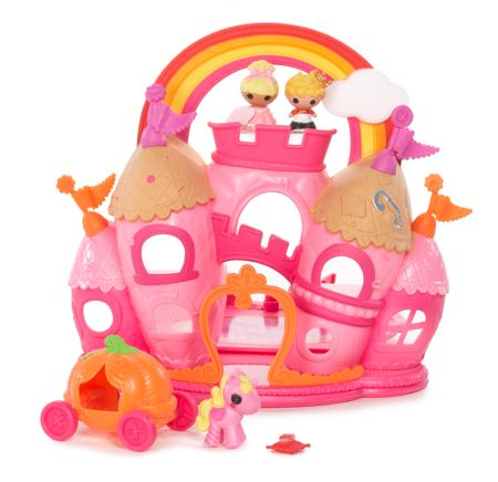 Lalaloopsy Dolls sew royal castle playset