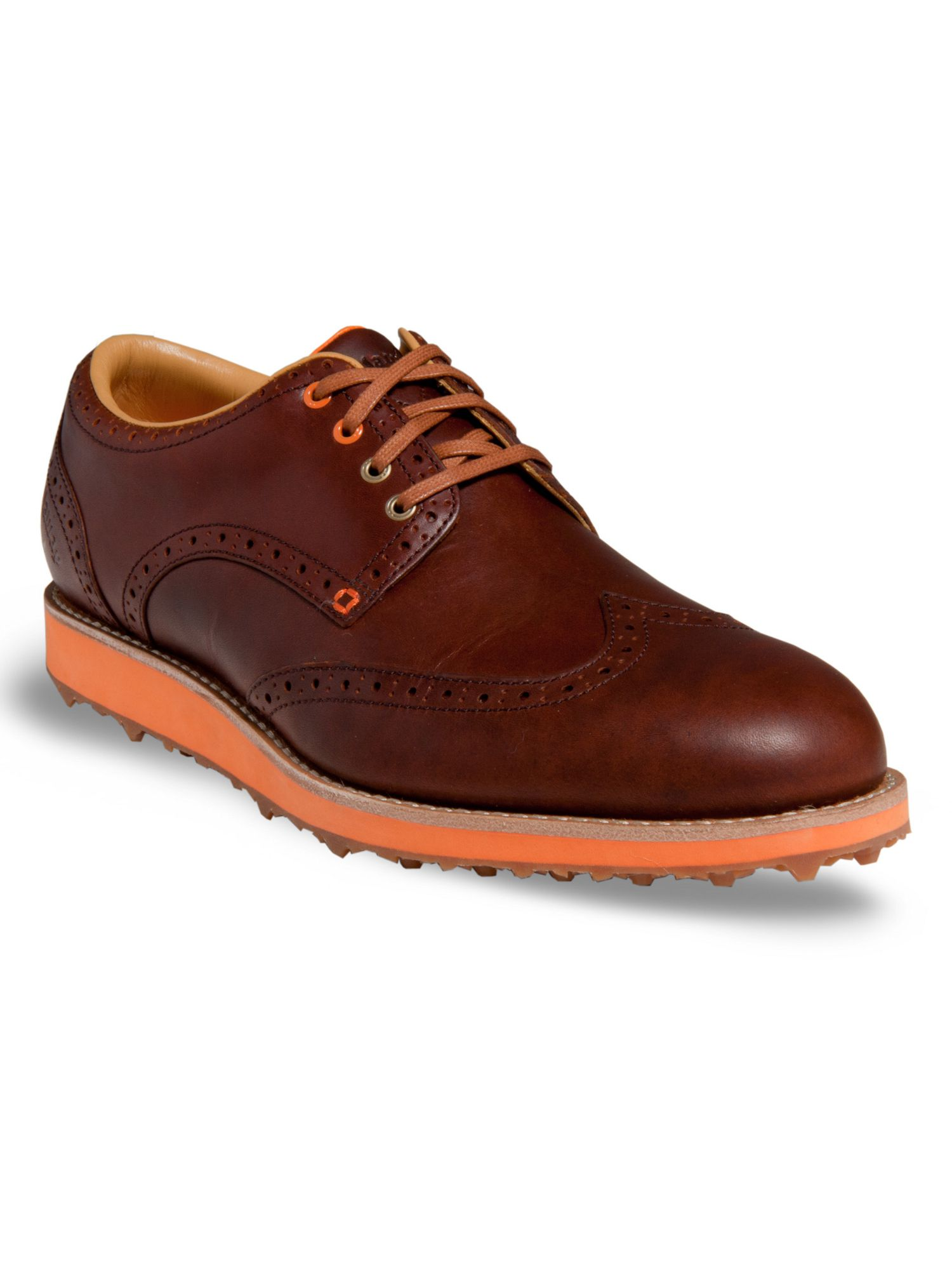 Master staff brogue golf shoes