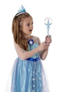 Elsa`s musical snow wand