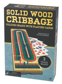 Red Bird Solid Wood Cribbage Game