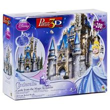 Castle 3d puzzle - 200 pieces