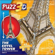 Cardinal Mini Eiffel Tower 3D Puzzle