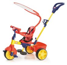 4-in-1 primary colours trike