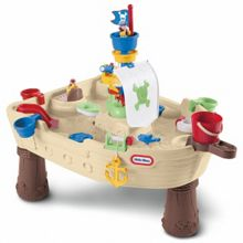 Anchors away pirate ship water play
