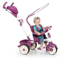 4 in 1 Sports Edition Trike Pink/Purple