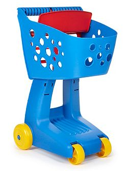 Lil` shopper cart blue