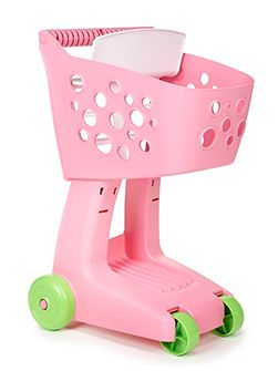Lil` shopper cart pink