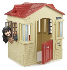Cape Cottage - Tan/Red Playhouse