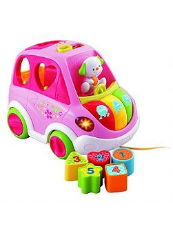 Vtech Sort & Learn Car Pink