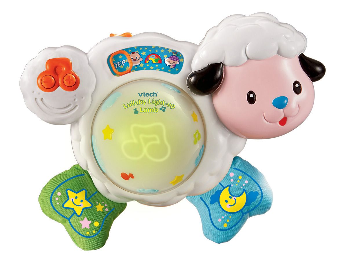 Lullaby light up lamb