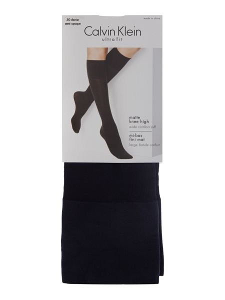 Calvin Klein 50 denier knee high socks