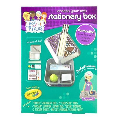 Crayola Pop Art Pixies Stationery Box