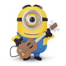 Minion Stuart Action Figure With Guitar