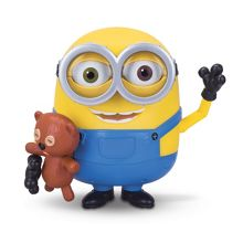 Minion Bob Action Figure With Teddy Bear