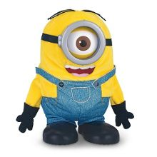 Minions Movie Tumbling Minion Stuart Soft Toy