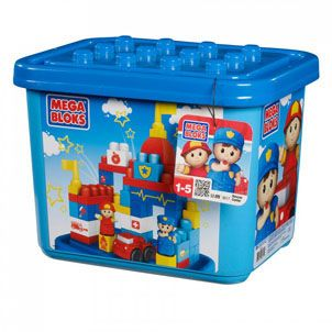 Mega Bloks First Build Fire Station