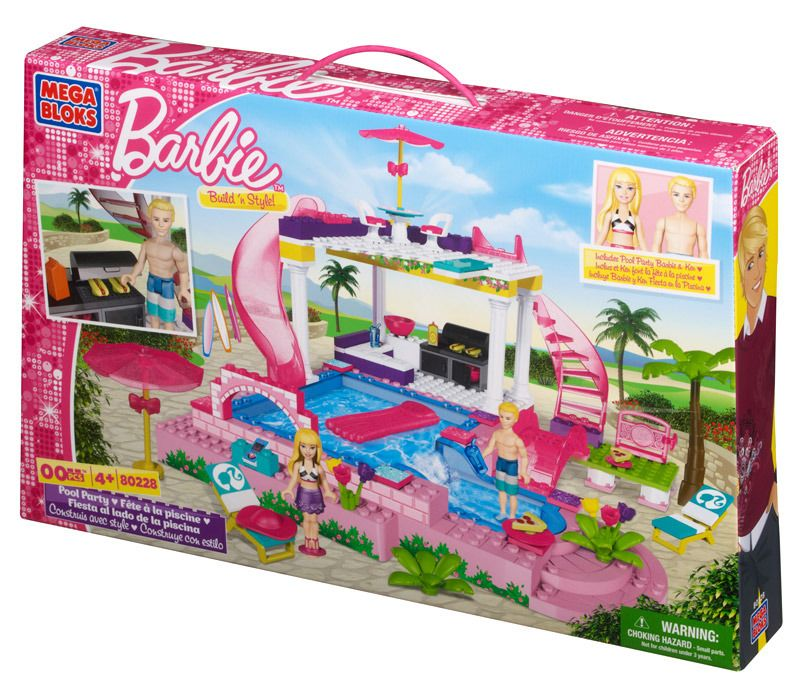 Barbie Build N Style Pool Party (80228U)