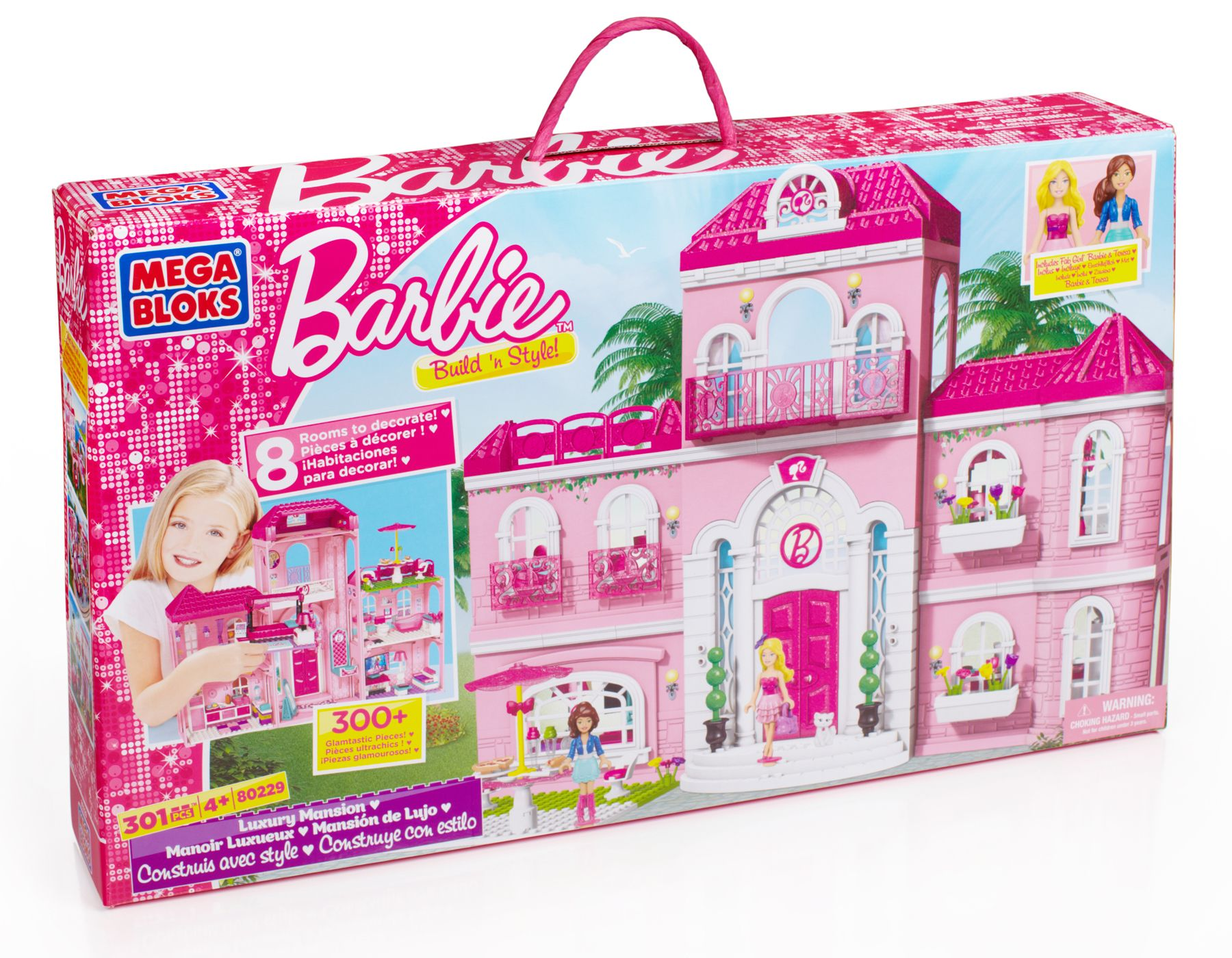 Barbie Build N Style Luxury Mansion