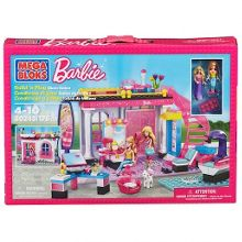 Mega Bloks Barbie Build n Play Glam Hair Salon