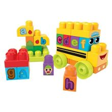 Mega bloks first builders abc spell schoolbus