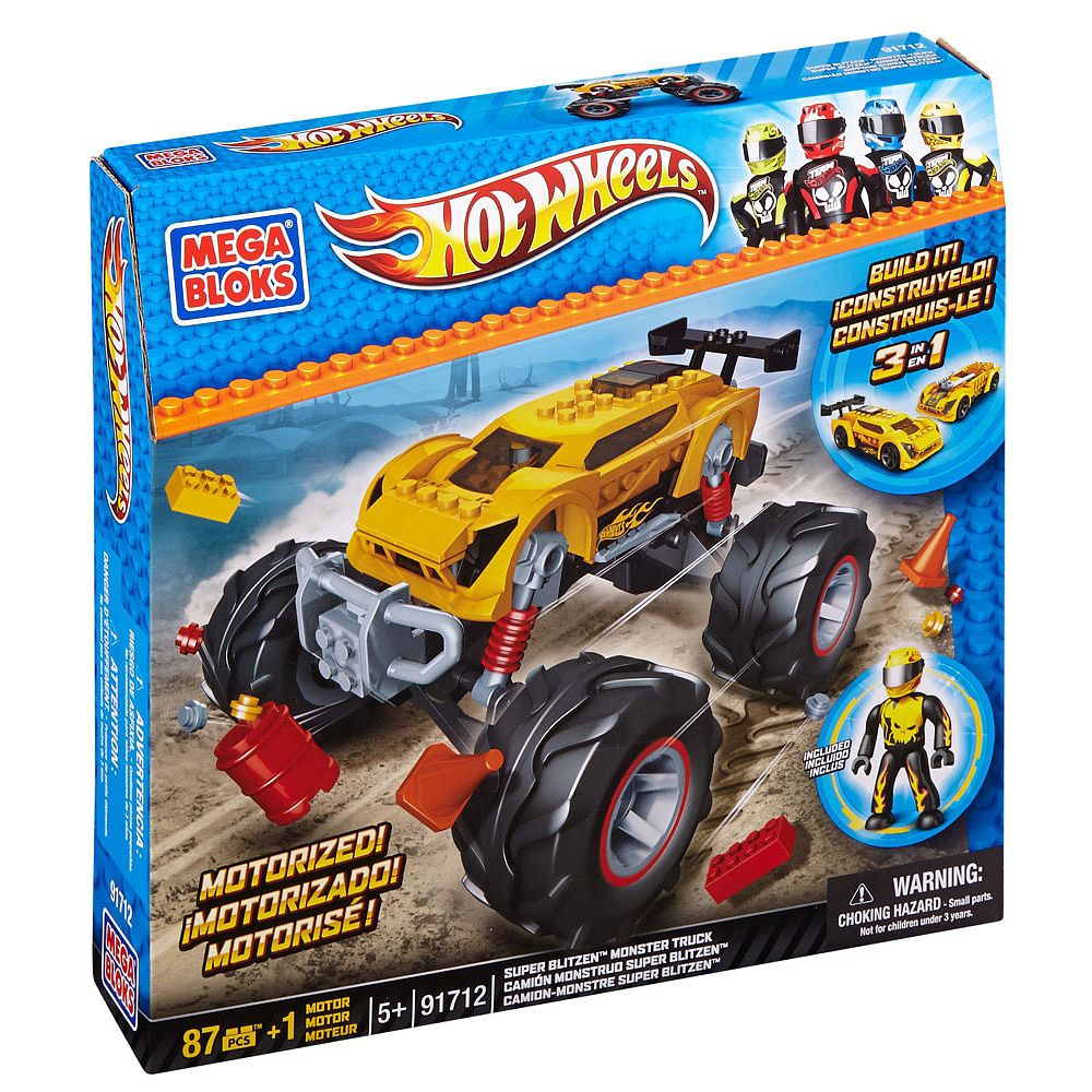 Mega Bloks Super Blitzen Monster Truck