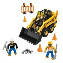 Mega Bloks Mega bloks cat skid-steer loader