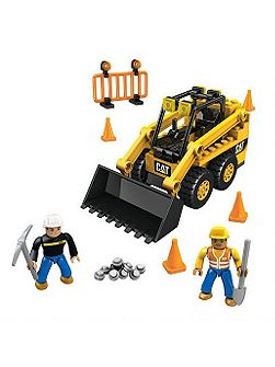 Mega bloks cat skid-steer loader