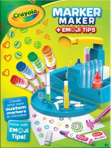 Crayola Marker Maker & Emoji Tips