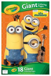 Minions Giant Colouring Book