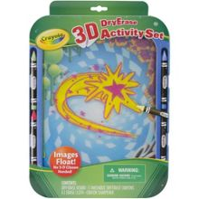 Crayola 3-D Dry Erase Activity Set