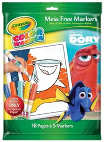 Crayola Colour Wonder Disney Finding Dory Set