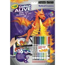 Colour alive mythical creatures