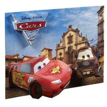 Disney cars 3d break through puzzle