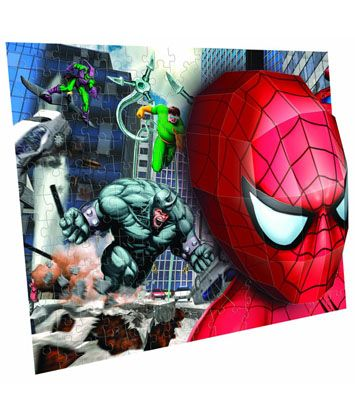 100pc Marvel 3D breakthrough Puzzle