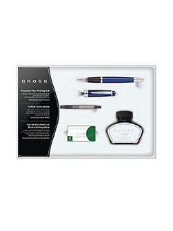 Bailey lacquer fountain pen gift set
