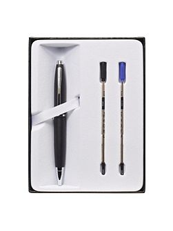 Calais matt chrome ball pen