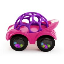 Bright Starts Oball Rattle & Roll Pink Vehicle