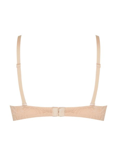 DKNY Signature scribble plunge push up bra