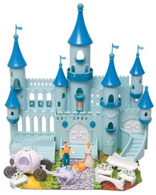 Boley Blue Castle with Steeples & Accessories