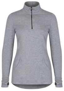 Cuddl Duds Long sleeve 1/2 zip top