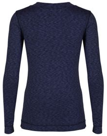 Cuddl Duds Long sleeve v neck top