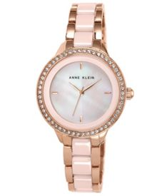 Pink Ceramic Watch