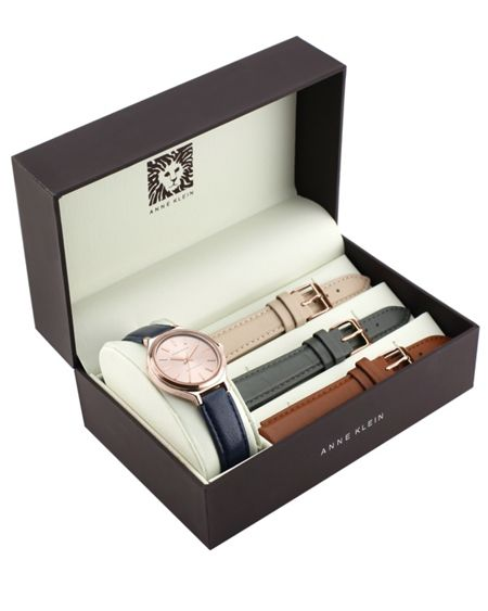 Anne Klein Multi Strap Watch