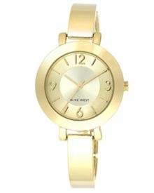 Nine West Gold Bracelet Watch