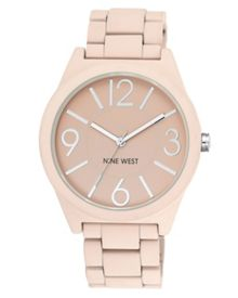 Nine West Pink Soft Silicon Watch